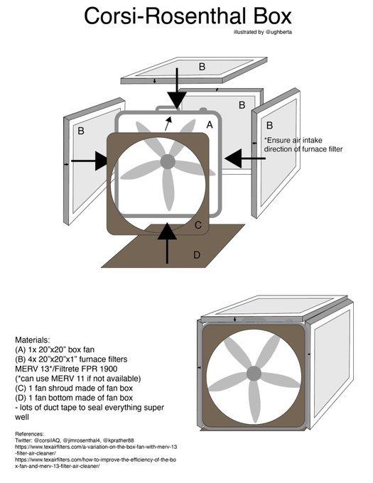diagram of air filter