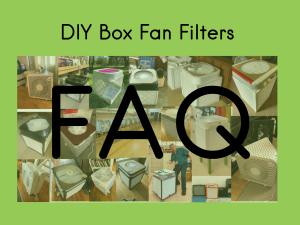 box fan filter FAQ