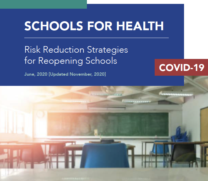 Harvard schools for health risk reduction strategies for opening schools