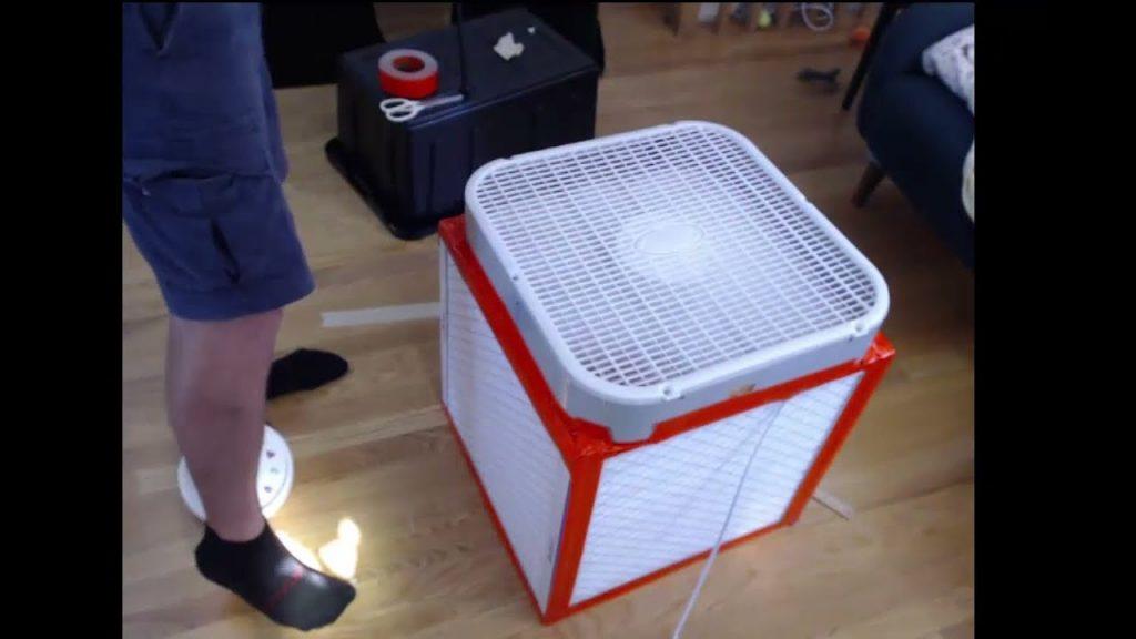 building box fan filter, corsi box, air box